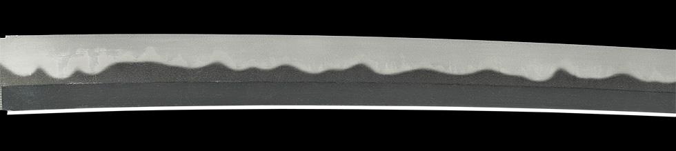 日本刀、備州長船法光作 明応八年二月日、鍛え