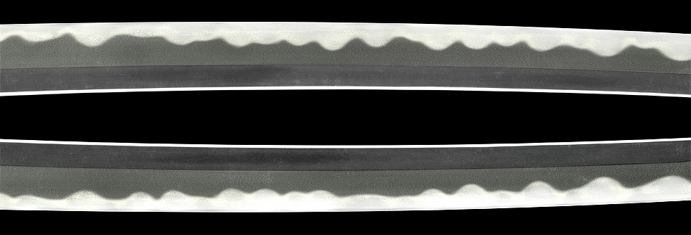 日本刀、重要刀剣、隅州住正景、鍛え