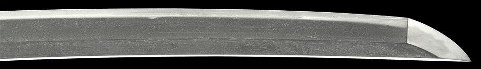 日本刀、二王種重、鋩子