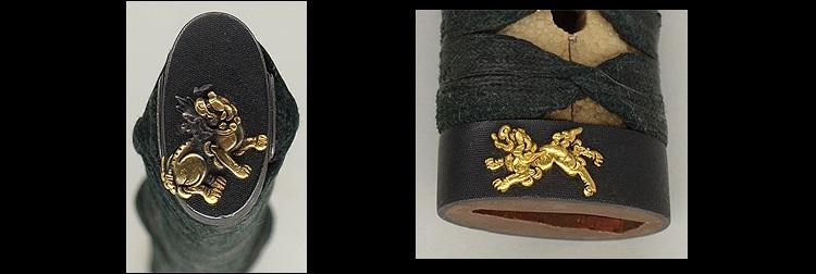 日本刀、重要刀剣、越前守法城寺正照、縁頭
