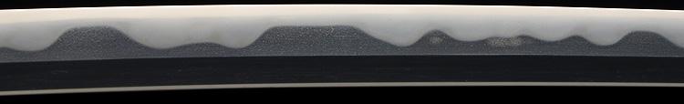日本刀、信国吉包(重要刀剣)、鍛え
