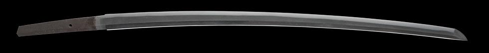 日本刀、二王清実作、刀身