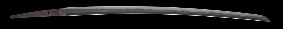日本刀、奥大和守元平、刀身