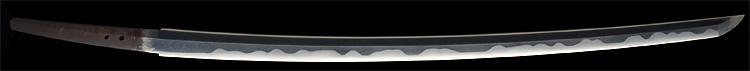 日本刀、信国吉包(重要刀剣)、刀身