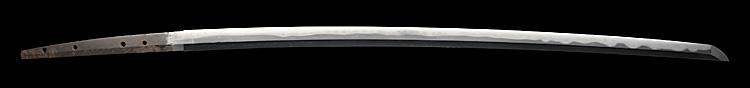 刀、出羽大掾(以下切れ)、刀身