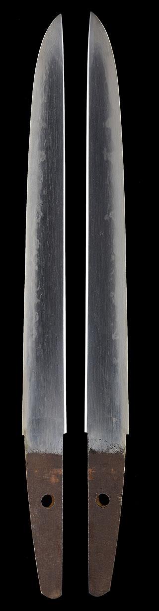 短刀、無銘(新々刀海部)、刀身